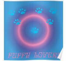puppy lovers Poster