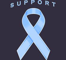 Light Blue Awareness Ribbon of Support Women's Relaxed Fit T-Shirt