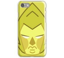 YELLOW DIAMOND Solo Headshot iPhone Case/Skin