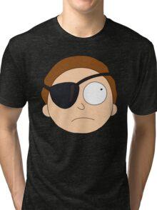 Evil Morty. Tri-blend T-Shirt