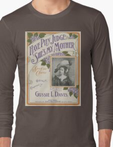 Mother's Day Card Long Sleeve T-Shirt