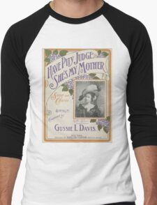 Mother's Day Card Men's Baseball ¾ T-Shirt
