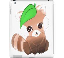 cute red panda   iPad Case/Skin