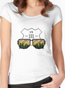 California Women's Fitted Scoop T-Shirt