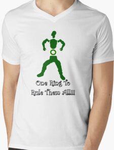 One Ring, O-ring  Mens V-Neck T-Shirt