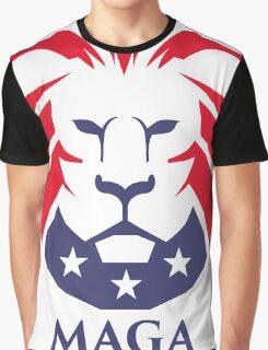 MAGA trump logo Graphic T-Shirt