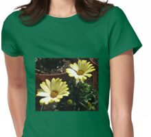 Early Morning Sun Bathers  Womens Fitted T-Shirt