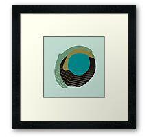 Stain Moss Framed Print
