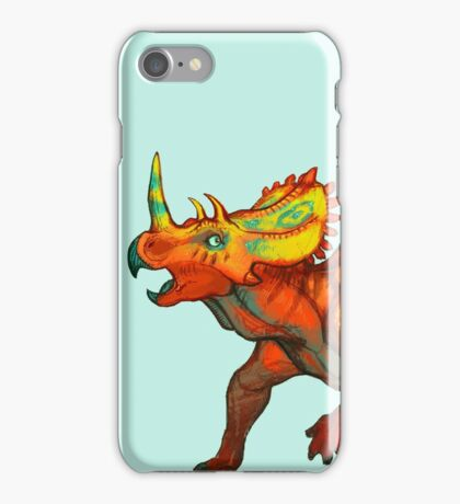 Regaliceratops peterhewsi iPhone Case/Skin