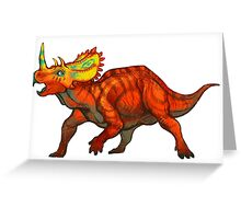 Regaliceratops peterhewsi Greeting Card