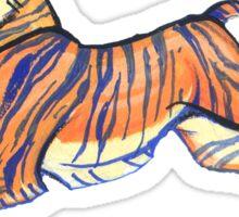 teeny tiger Sticker