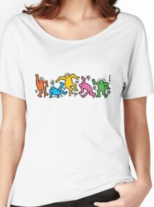Keith Haring People Women's Relaxed Fit T-Shirt