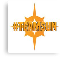 Pokemon Sun & Moon #TeamSun Canvas Print