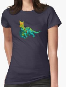 Chasmosaurus belli Womens Fitted T-Shirt