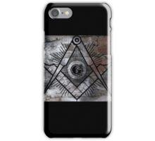 Freemason Symbol iPhone Case/Skin