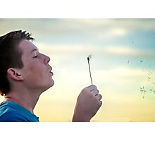 Make a Wish Photographic Print