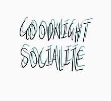 Goodnight Socialite (Aqua) T-Shirt