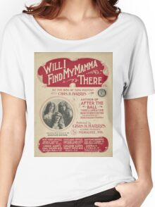 Mother's Day Card Women's Relaxed Fit T-Shirt