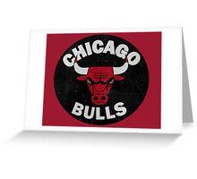 Chicago bulls logo Greeting Card