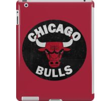 Chicago bulls logo iPad Case/Skin