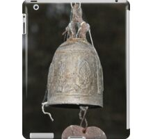 Buddhist Temple Bell (2) iPad Case/Skin