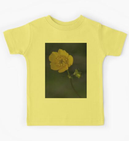 Meadow Buttercup - Burntollet Woods, County Derry Kids Tee