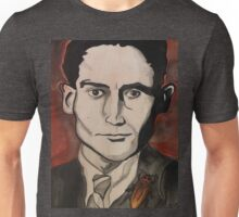 Franz Kafka and His Cockroach  Unisex T-Shirt