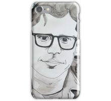 Allen Ginsberg - Smell the Flowers  iPhone Case/Skin
