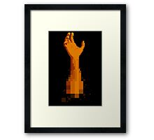 Ham (Yellow) Framed Print