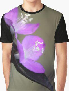 Spiderwort Flowers Graphic T-Shirt