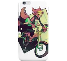 DREAMING WEREWOLF MOTORCYCLIST iPhone Case/Skin