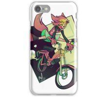 DREAMING WEREWOLF MOTORCYCLIST iPhone Case/Skin