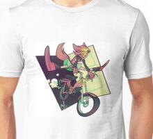 DREAMING WEREWOLF MOTORCYCLIST Unisex T-Shirt
