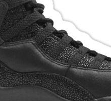 "Air Jordan 10 OVO ""Black""  Sticker"