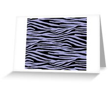 0049 Wild Blue Yonder or Blue Bell Tiger Greeting Card