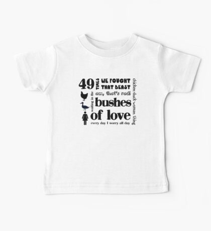 Bushes of Love Baby Tee