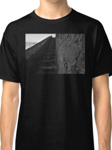 Medieval Castle Staircase in Castro Marim Classic T-Shirt