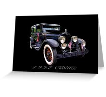 27 Cadillac Greeting Card