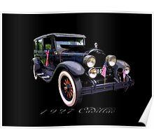 27 Cadillac Poster