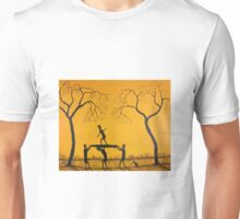 """Ned Kelly Surf """"Surfing Practice""""  Original Acrylic Painting; FOR SALE          Unisex T-Shirt"""