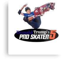 Make America Skate Again Metal Print