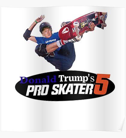 Make America Skate Again Poster