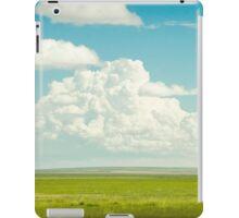 alberta cloud iPad Case/Skin