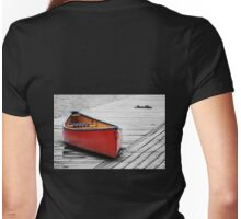 The Red Canoe  Womens Fitted T-Shirt