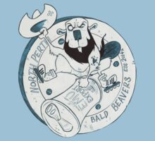 North Perth Bald Beavers Baby Tee