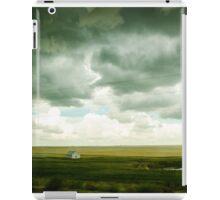 alberta storm clouds iPad Case/Skin
