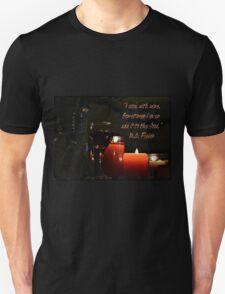 """""""I cook with Wine"""" W.C. Fields Unisex T-Shirt"""