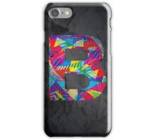 Fun Letter - B iPhone Case/Skin