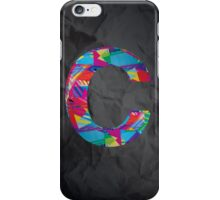 Fun Letter - C iPhone Case/Skin
