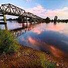 Martin Bridge Sunset by Matthew Jones
